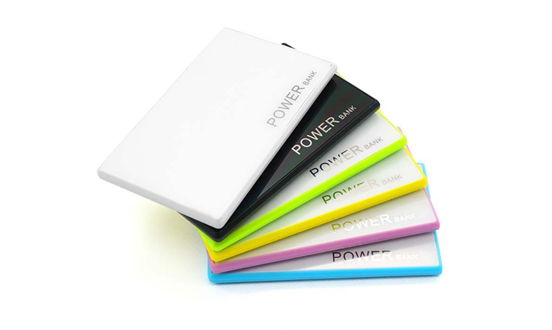 Batterie de secours au design Ultra Plat - PUB018