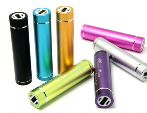 Batterie externe publicitaire aluminium – PUB009