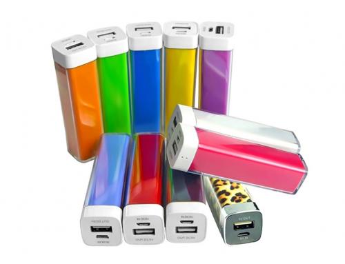 Batterie de secours au design Lipstick – PUB006