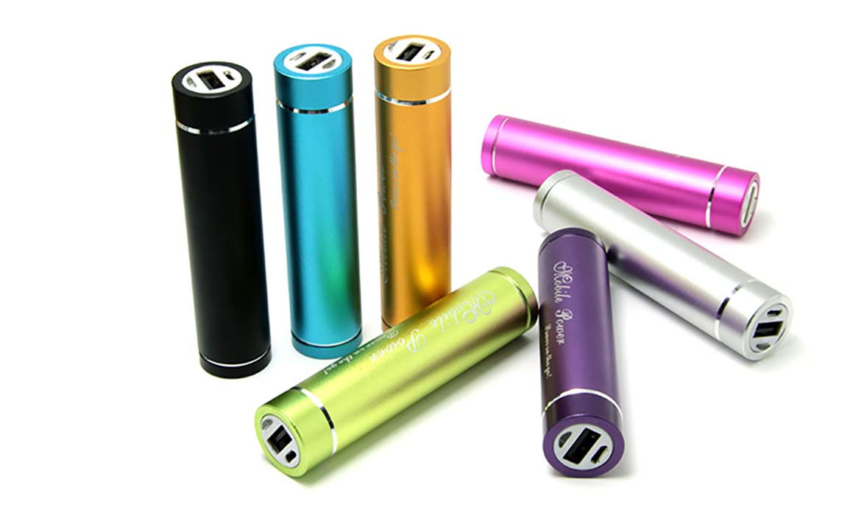 Batterie de secours cylindre Publicitaire PUB-009